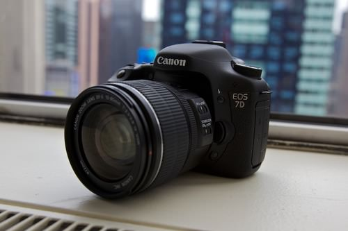 Picking your first DSLR camera