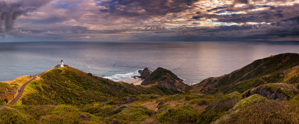 The-official-photographers-New-Zealand-cape-reinga-sunrise-panorama