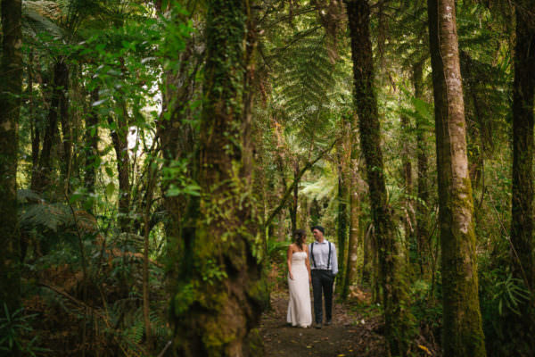 Shannon & Noel // Pirongia Forest Park // Wedding
