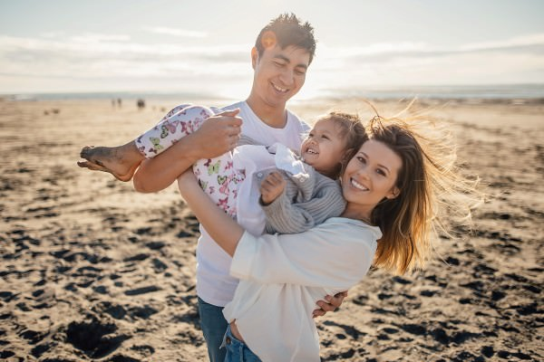 Saskia + Payton + Te Iwa // Lifestyle Session // Raglan Beach