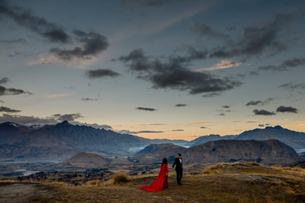Mandii + Kevin | Queenstown Pre-Wedding Shoot