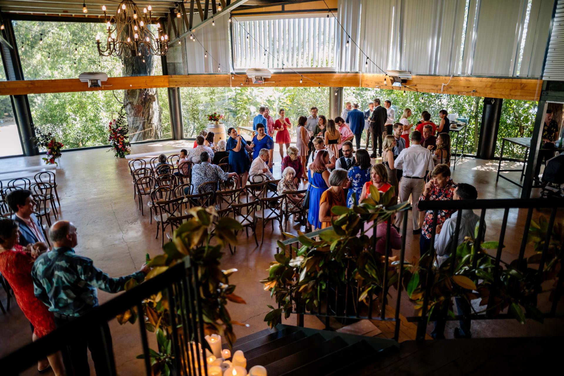 Narrows Landing Wedding Venue indoor Ceremony