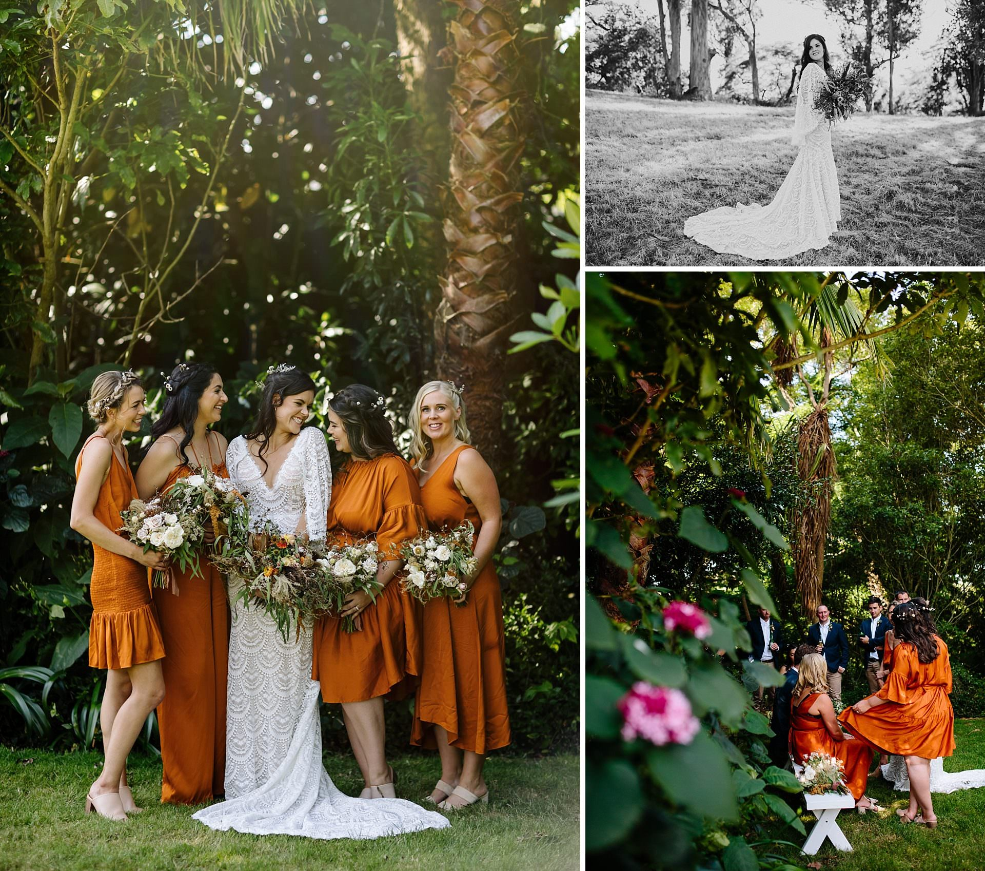 Boho wedding vibe Narrows Landing