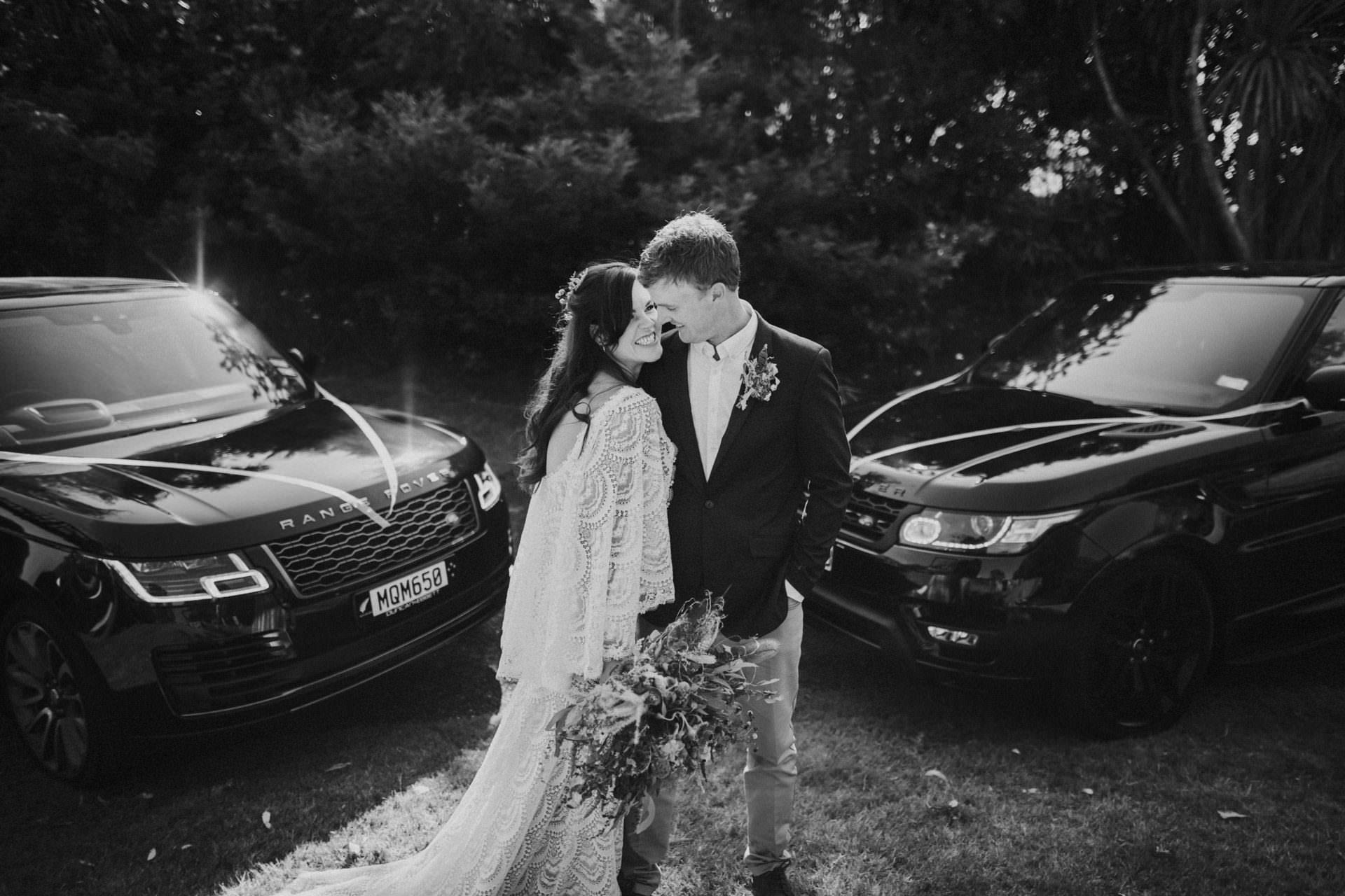 Range rover wedding car hire