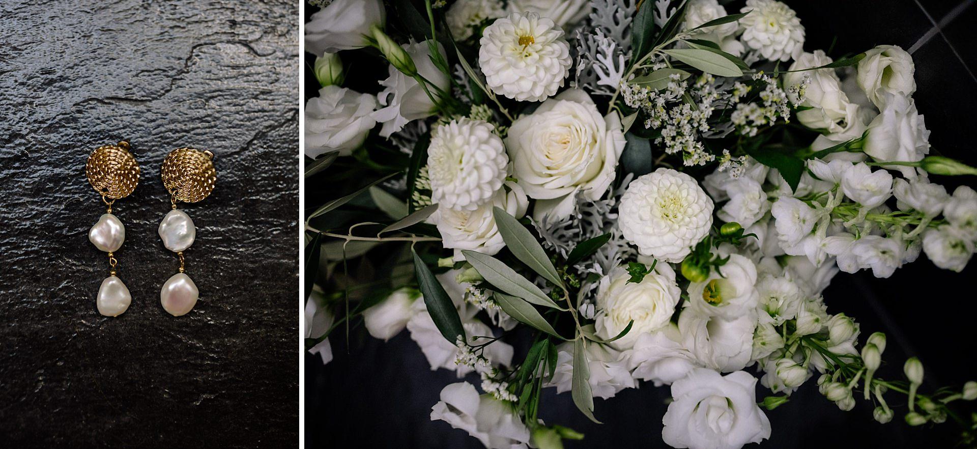 Bridal bouquet by Hamilton Florist