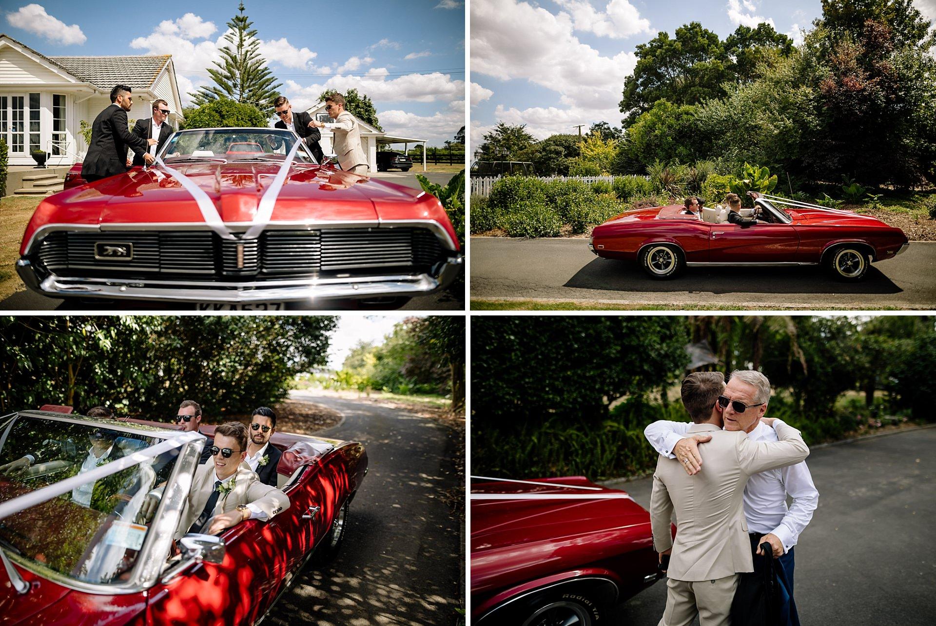 Hamilton wedding car hire