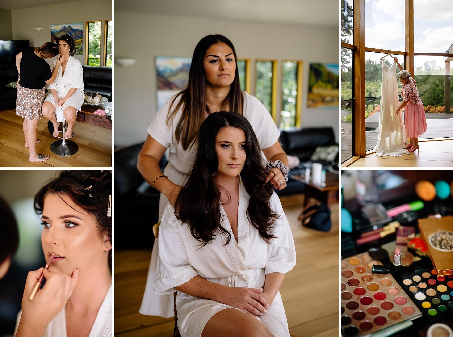 Bride wedding day makeup